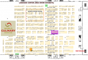 NRA Show 2015 Map