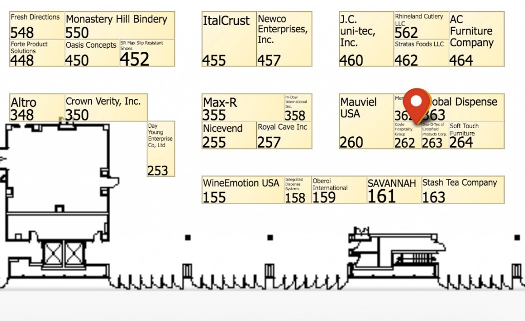 NRA_Show_2016_-_Event_Map